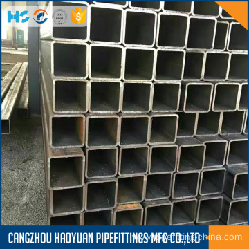 Top for Rectangular Steel Tubing Black square pipe sch40 ASTM A53 GR.B supply to Djibouti Suppliers